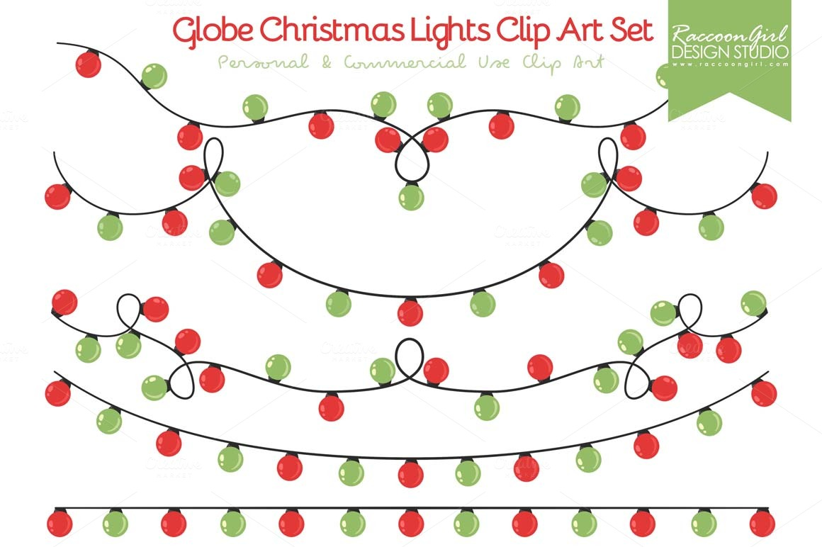 Holley clipart holiday light  moment lights illustrations image