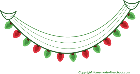 Holley clipart holiday light Lights Christmas Christmas clipart Download