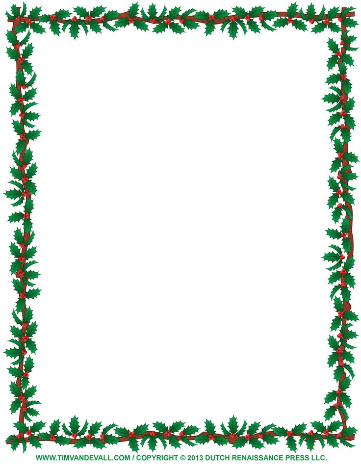 Cutlery clipart border Print Border images graphics Holly