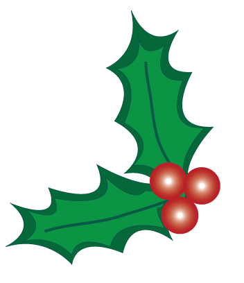Leaves clipart xmas #8