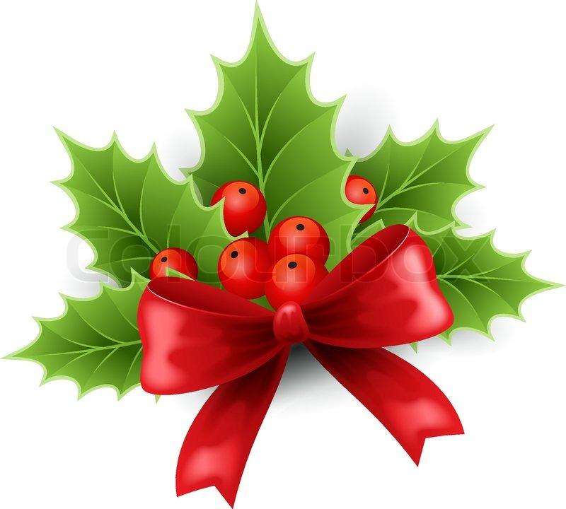 Holley clipart holy Vector Stock Christmas Christmas Colourbox