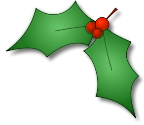 Decoration clipart holly Pinterest Christmas Leaf Leaf Best
