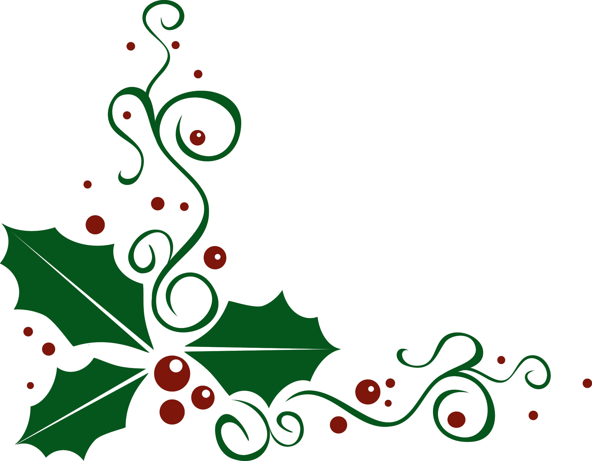 Holley clipart ornament Christmas Cliparts Holly Holly Cliparts