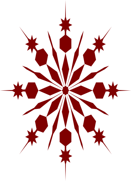 Holley clipart red green snowflake Art  Red as: Art