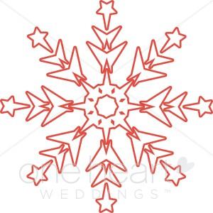 Holley clipart red green snowflake Wedding Wedding Snowflake Christmas Printable