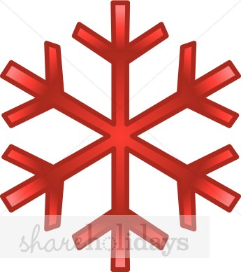 Holley clipart red green snowflake Snowflake Design Snowflake The Snowflake