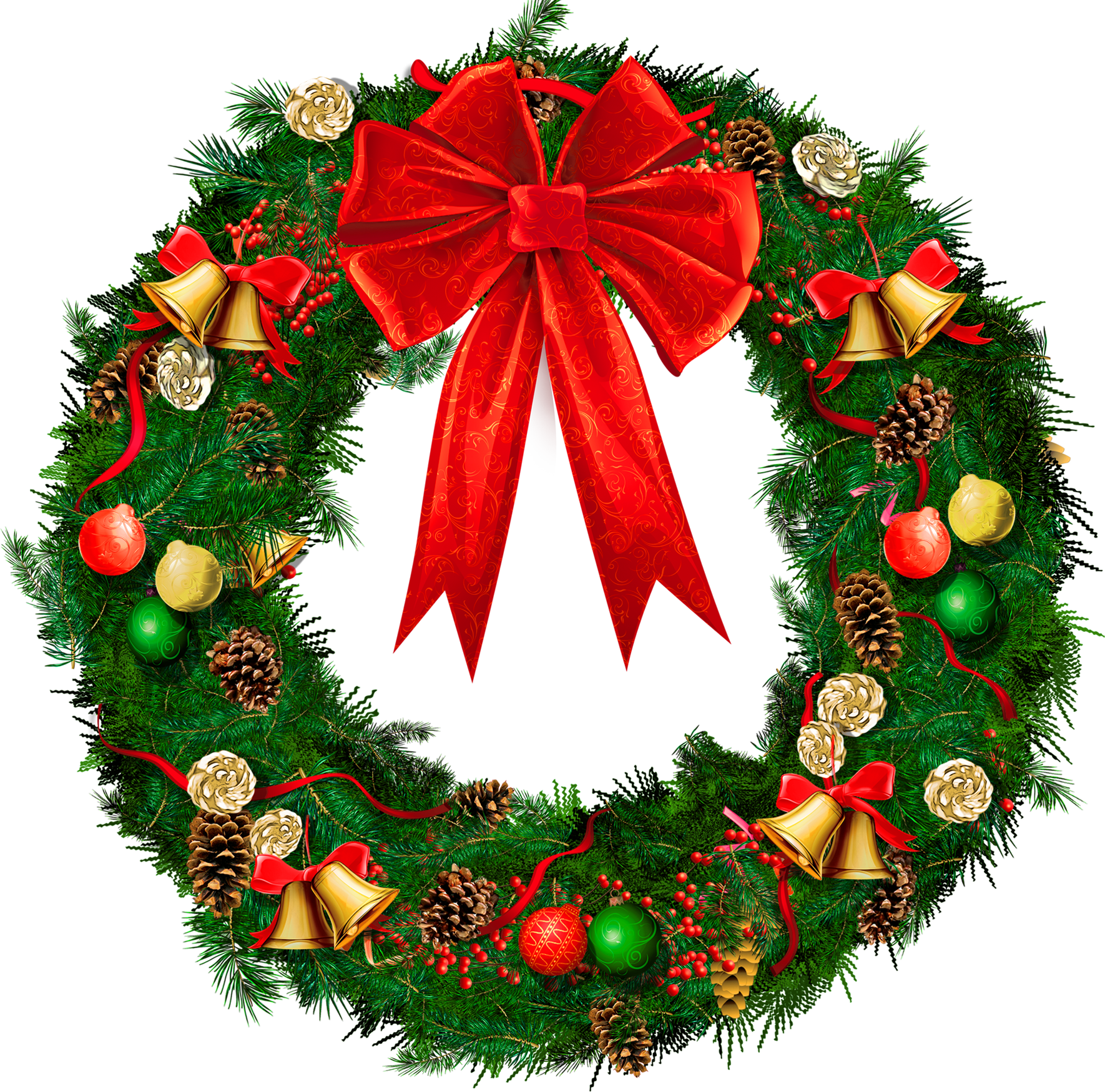 Holydays clipart christmas wreath Wreath christmas wreath clipart Clipart