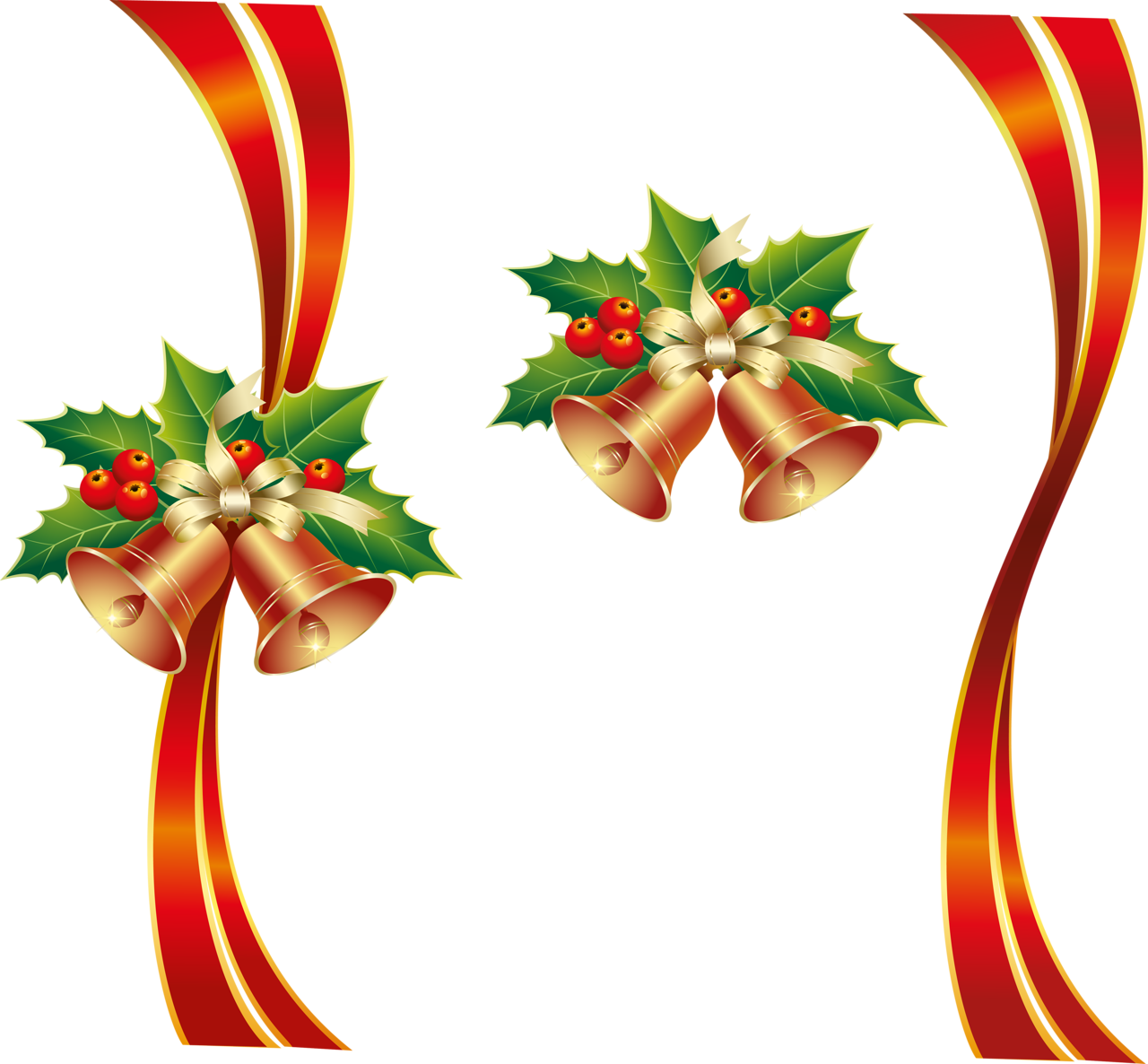 Holley clipart ribbon Christmas Christmas Images PNG image