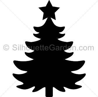 Holley clipart silhouette Page Silhouettes Silhouette Christmas Christmas