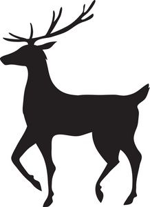 Holley clipart silhouette Silhouette ideas Reindeer 25+ silhouette