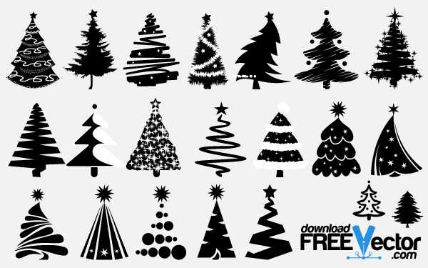 Holley clipart silhouette Clipart Holly collection Silhouette Christmas