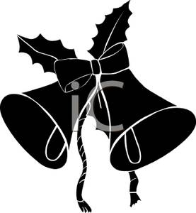 Holley clipart silhouette Clipart clipart Silhouette christmas christmas
