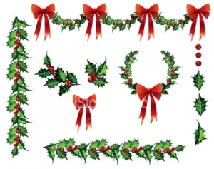 Holley clipart swag Clip Free christmas free swag
