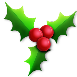 Holley clipart traditional christmas Christmas Traditional Holly Christmas Clipart