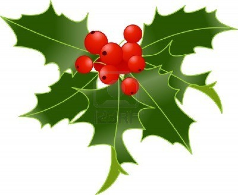 Decoration clipart holly Cliparting Holly art clip images