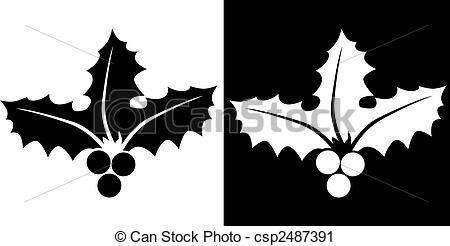 Holley clipart vector Icon Vector Vector Art of