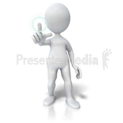 Hologram clipart Button PowerPoint Signs Pushing Symbols