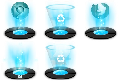 Hologram clipart Iconset Google Browse Icon chrome