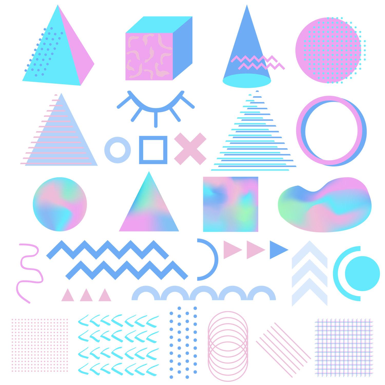 Hologram clipart design plan #2