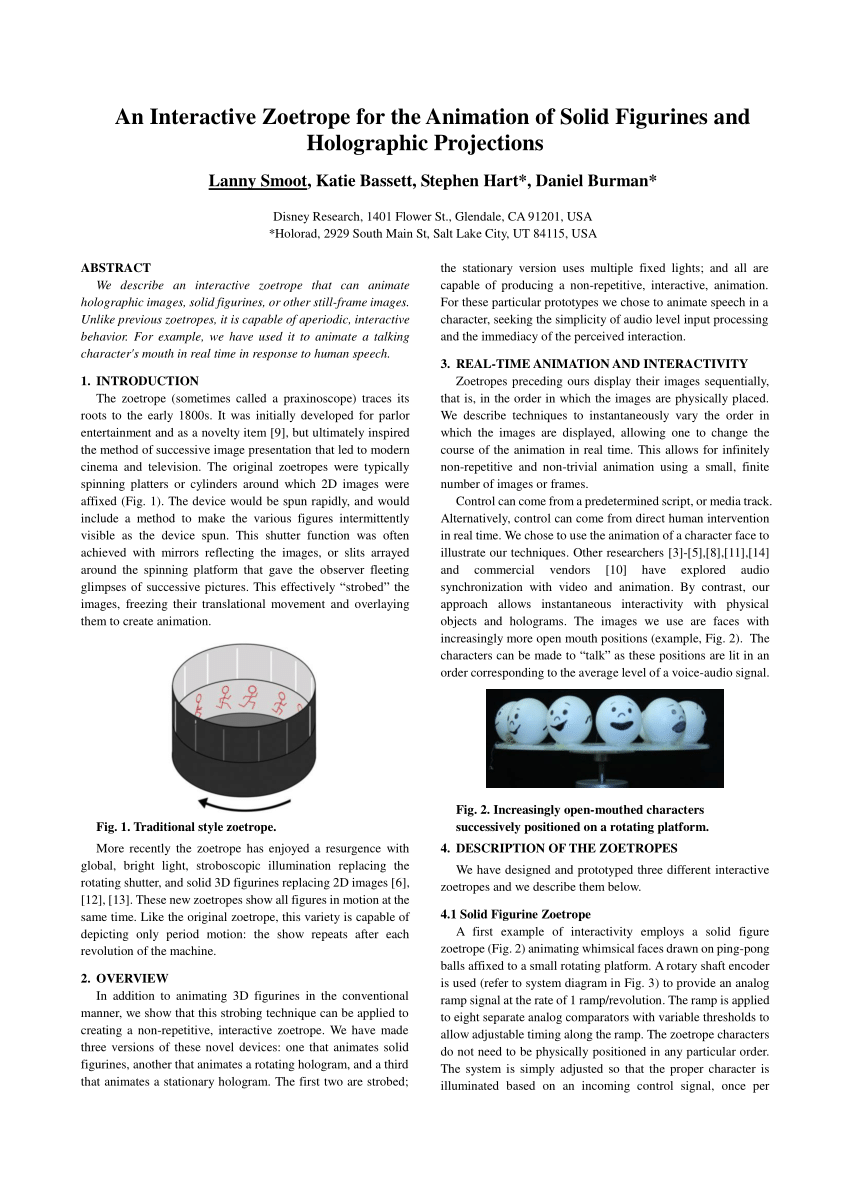 Hologram clipart research method The figurines zoetrope Available) figurines