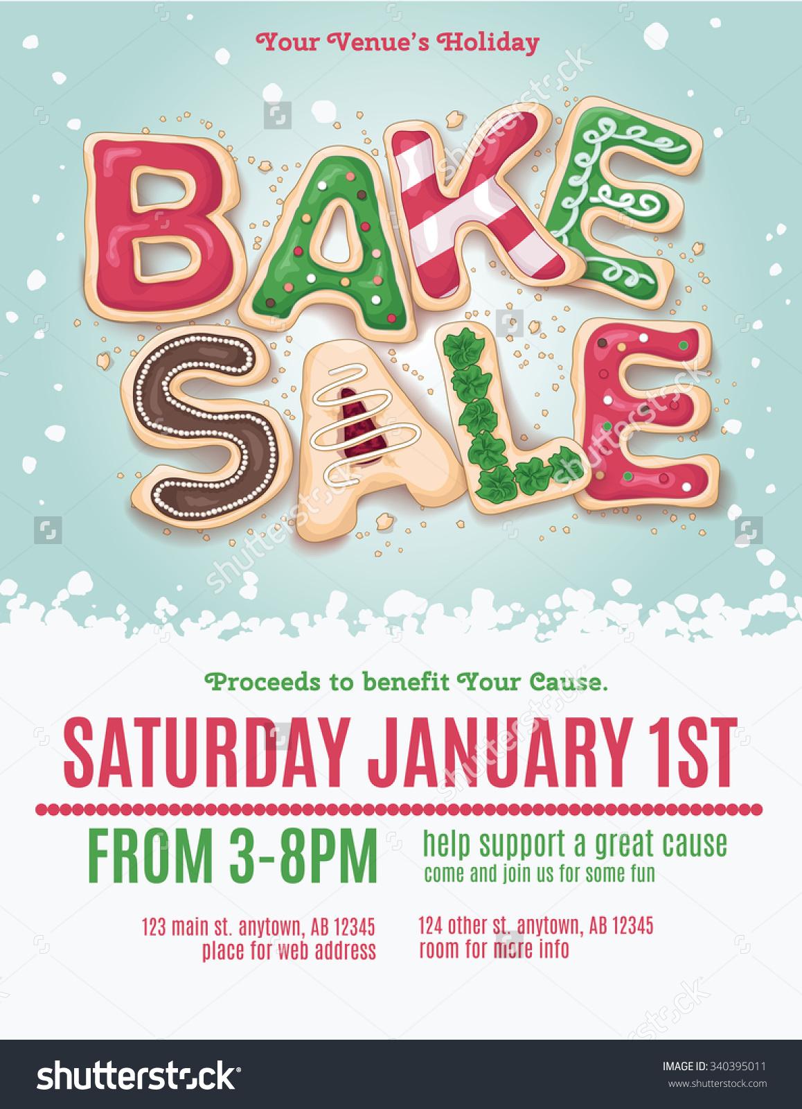 Holydays clipart bake sale Holiday bake sale clipart bake