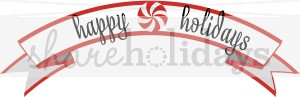 Holydays clipart banner Happy Happy Holidays Banner Clipart
