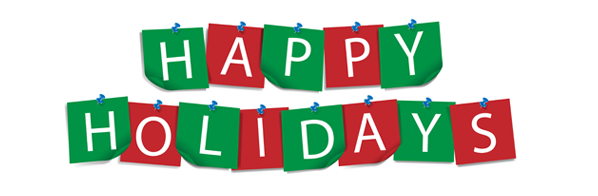 Holydays clipart banner 2 Happy 2 – Holidays