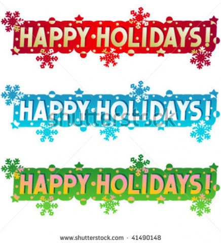 Holydays clipart banner Clipart banner (28+) Holiday greetings