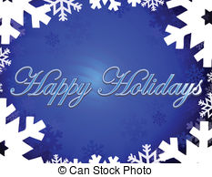 Holydays clipart blue Downloads background Happy  holidays