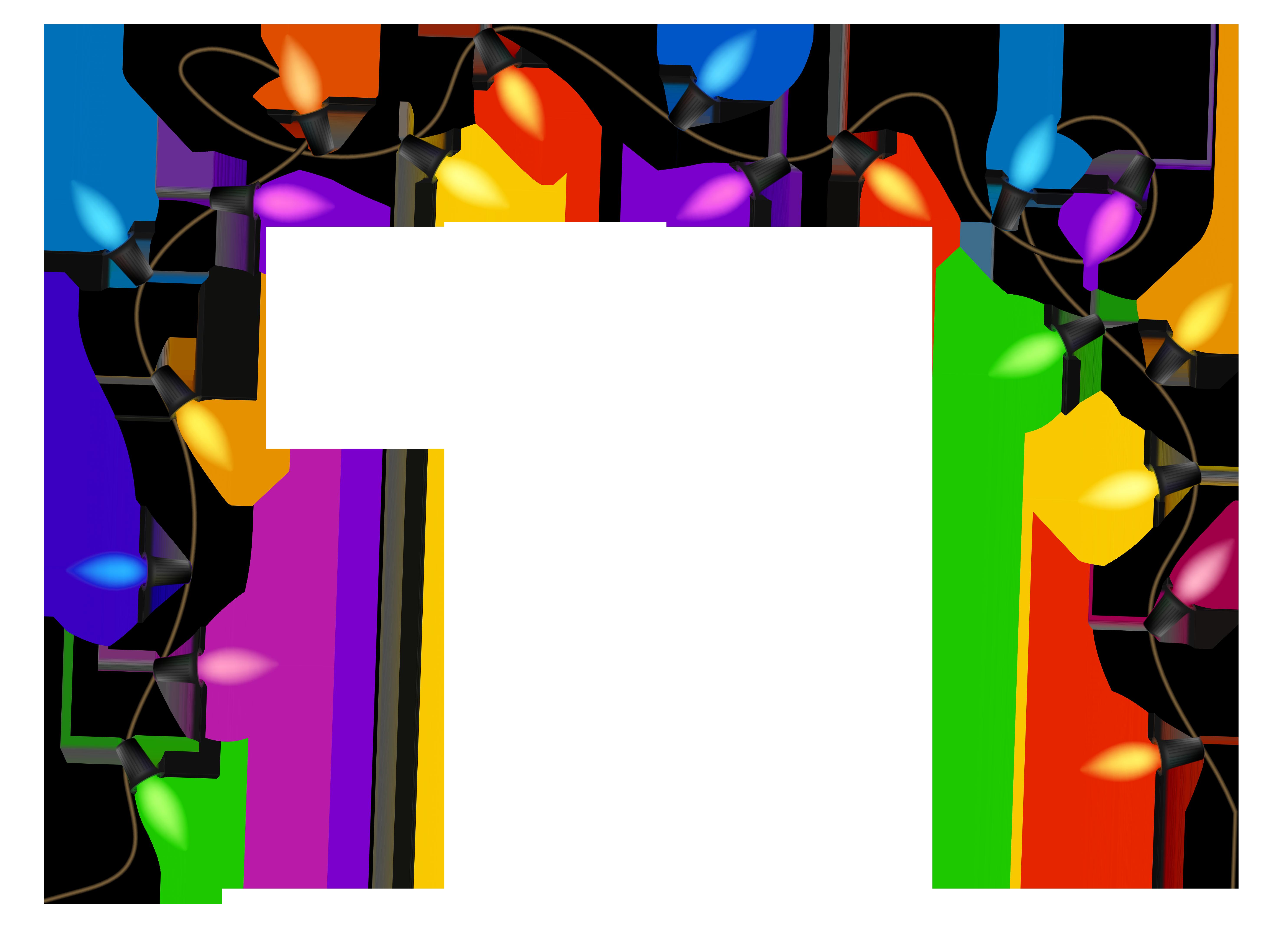 Holydays clipart christmas light garland 2 Christmas lights collection Microsoft