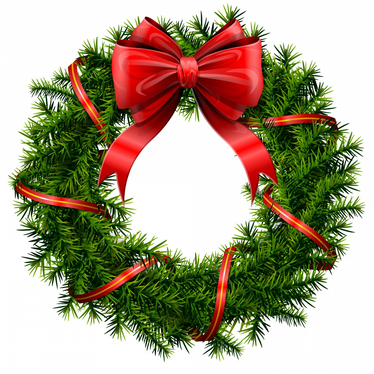 Wreath clipart transparent background Clipart Info And Clip Bow