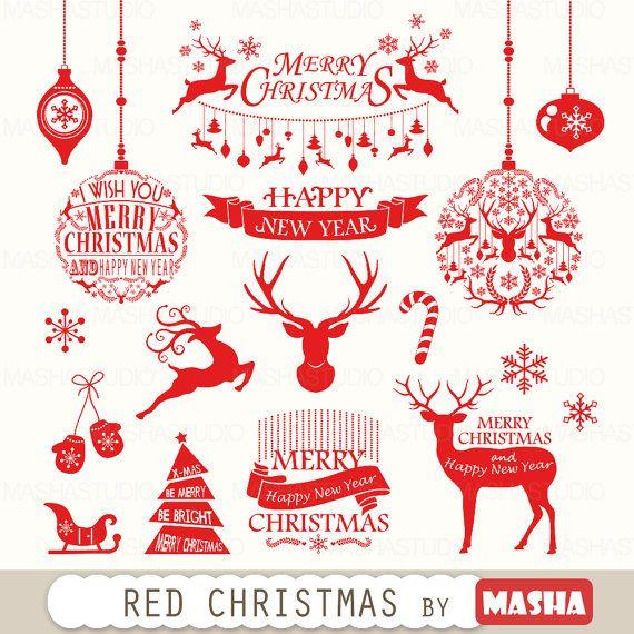 Holydays clipart deer Christmas Clipart
