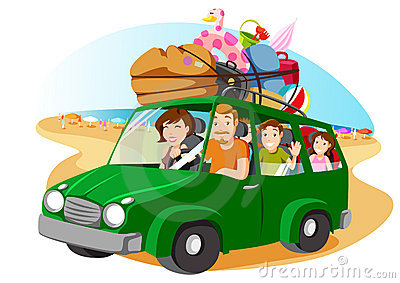 Holydays clipart family holiday On van (73+) family Family