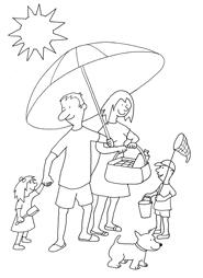 Holydays clipart family holiday Black Black white Holidays clipartsgram