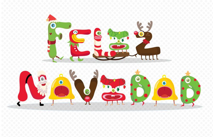 Holydays clipart feliz navidad #7