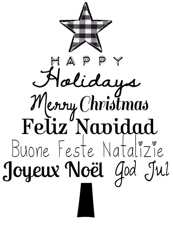 Holydays clipart feliz navidad #8