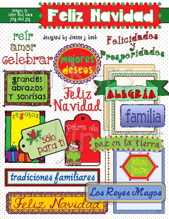 Holydays clipart feliz navidad #4