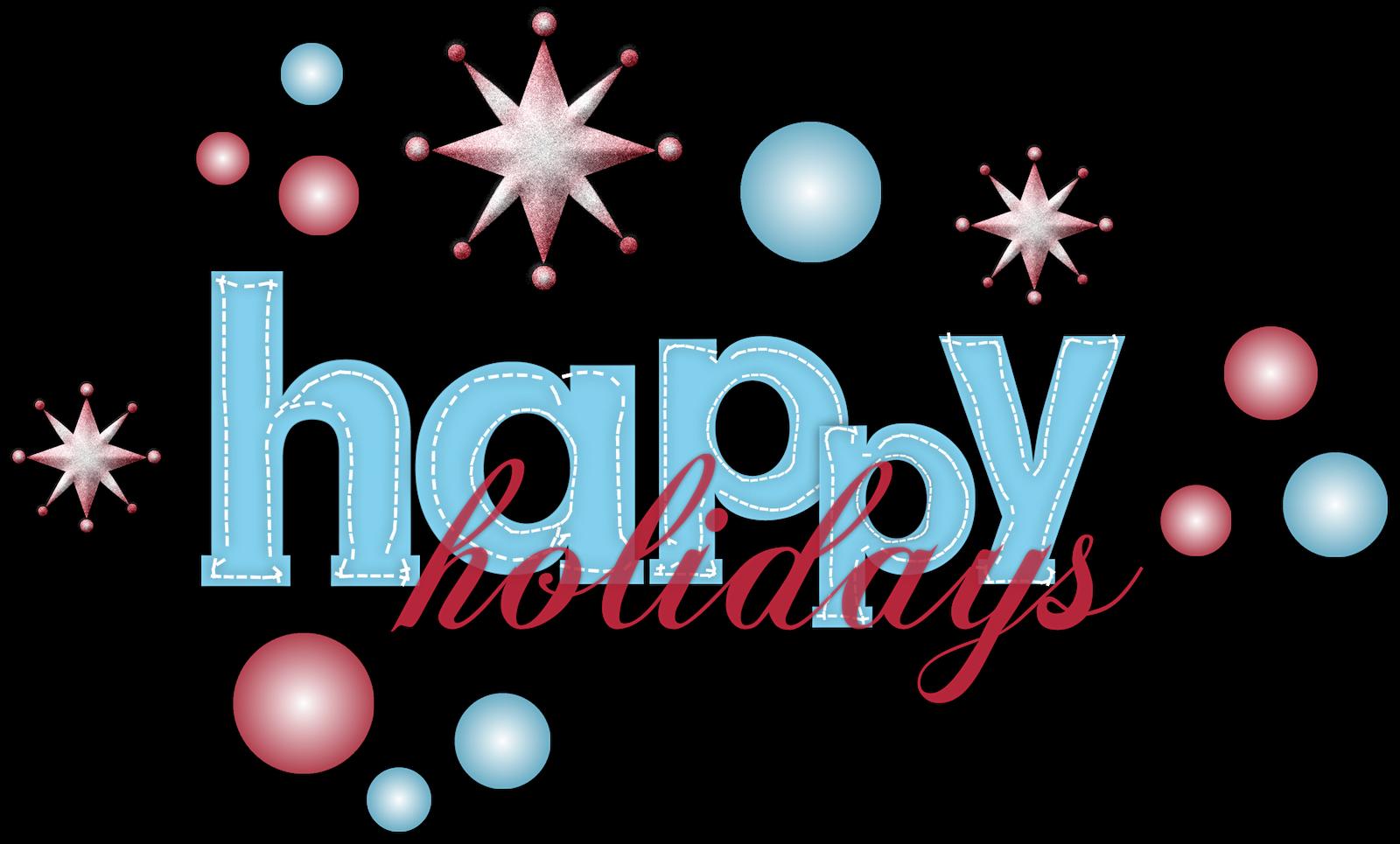 Word clipart happy holiday Free Happy com holidays clipart
