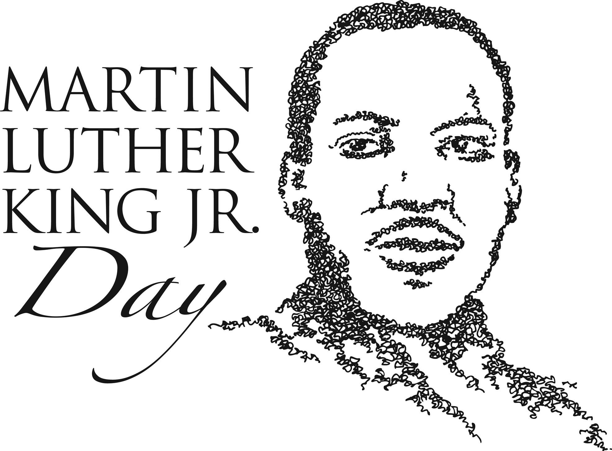 Holydays clipart martin luther king jr Martin day  – Shepherd