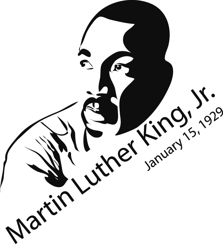 Holydays clipart martin luther king jr County Luther Harris Public MLK
