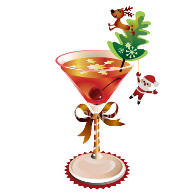 Holydays clipart martini For Your Cocktails Christmas Easy