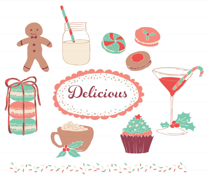 Holydays clipart martini And Drinks Desserts Holidays personal