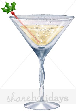 Holydays clipart martini Christmas Cocktail Clipart Cocktail Food
