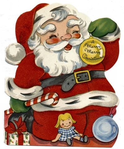 Santa clipart old fashioned #5