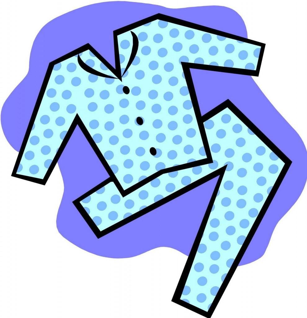 Holydays clipart pajama Art Free Art Clip Clip