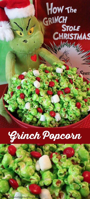 Holydays clipart popcorn Images Grinch <3 Pinterest CHRISTmas
