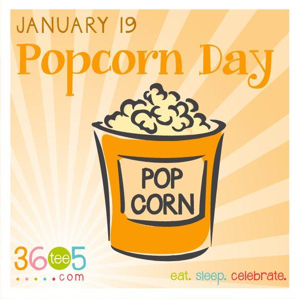Holydays clipart popcorn January on best January Food