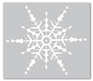 Holydays clipart snowflake All Printable Snowflake Image Holiday