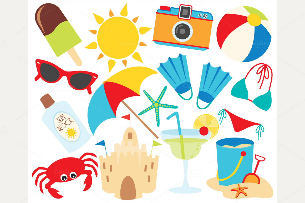 Holydays clipart summer vacation #8185 Vacation vacation Summer Clipart