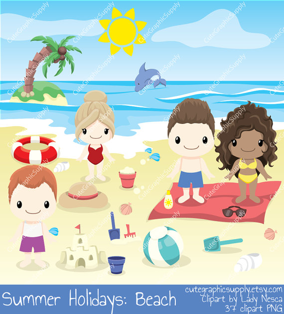 Holydays clipart summer vacation Clipart clipart beach clipart holiday